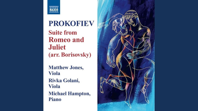 Romeo and Juliet, Op. 64 (arr. V. Borisovsky for viola and piano) : Act I Scene 2: Minuet:...