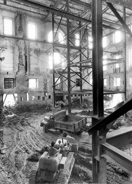 Реконструкция белого дома 1948 1952 года