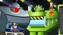 Боты Спасатели Мультик про роботов трансформеров Проблемы с насекомыми