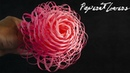 How To Make Fluffy Paper Flowers - DIY - Paper Craft