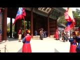 Смена караула Токсугун Changing of the Guard at Deoksugung Palace