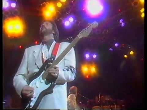 Layla - Eric Clapton with Mark Knopfler Live 1988