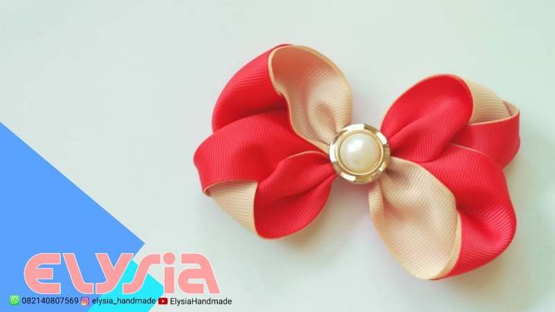 Laço Rossie 🎀 Rossie Ribbon Bow 🎀 DIY by Elysia Handmade