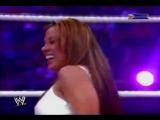 Wrestlemania 21 - Trish Stratus vs Mickie James Promo
