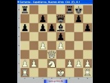 Шахматы. Анализ шахматной партии. Капабланка 4