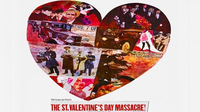 Резня в День святого Валентина. ОТЛИЧНЫЙ фильм о гангстерах. Война мафии в Чикаго. Криминал