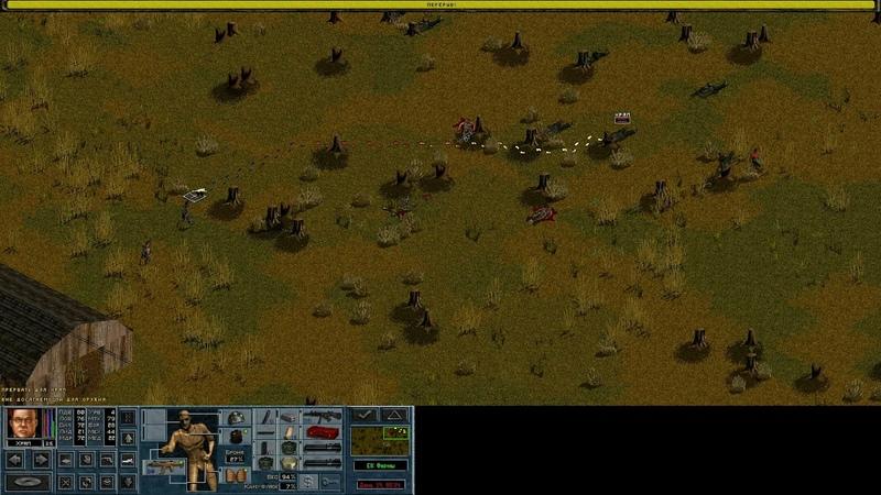 Jagged Alliance 2 Night Ops v1.40. неравный бой 8 vs 30 (18) by Mozayka