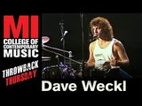 Dave Weckl Throwback Thursday from the MI Library