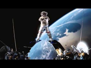 Жан Клод Ван Дамм и космический шпагат - Jean Claude Van Damme space twine (split)