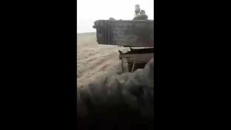 Полицейского украли трактористы