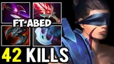 WTF 42 Kills Anti-Mage Situational Build - Jabz &amp Abed Unstoppable Party