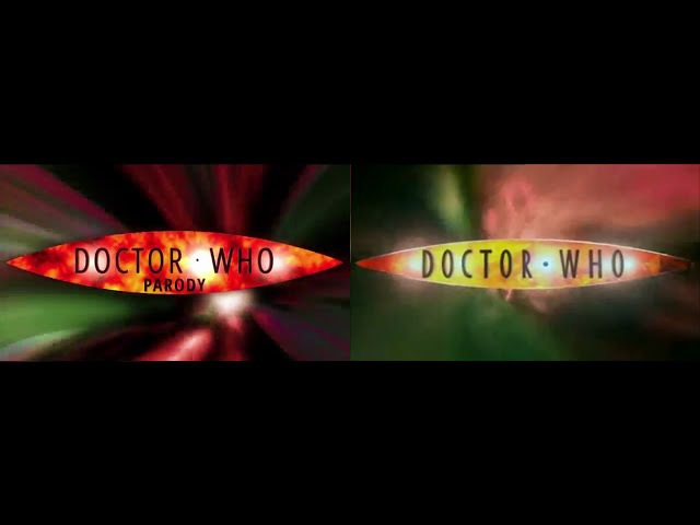 Hillywood Doctor Who Parody side-by-side comparison