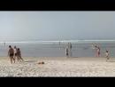 Над пляжем солнце а над океаном туман😎