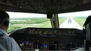 COCKPIT MOVIE! Boeing 777-300ER Paris to Punta Cana Caribbean incl. Take Off, Cruize, Landing