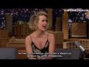 Сара Полсон Сегодня Вечером у Джимми Фэллона. Drew Barrymore Confronted Sarah Paulson About Her Impression