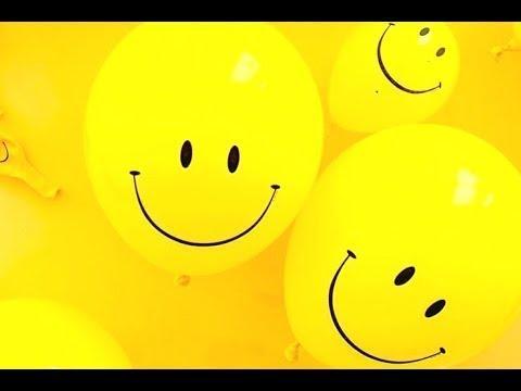 Разноцветные шарики лопнут 🎈 Шарики смайлики Balon warna warni meledak Smiles balloons