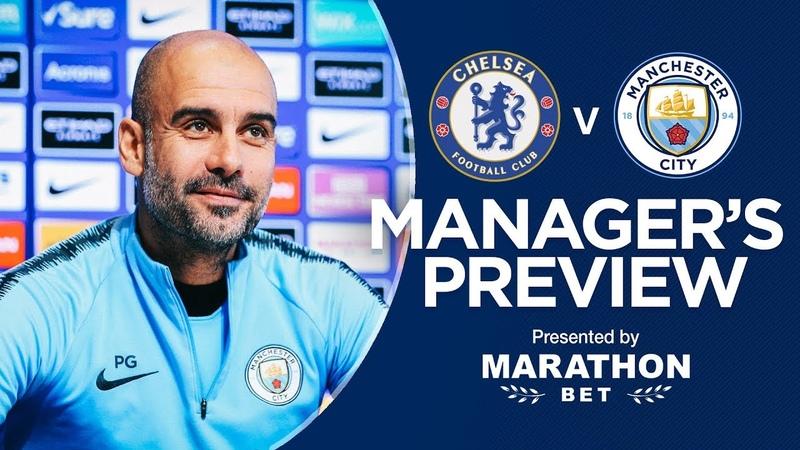 Pep Guardiola previews Chelsea v Man City | PRESS CONFERENCE