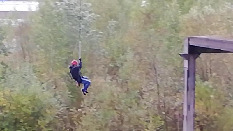 Степа научился летать