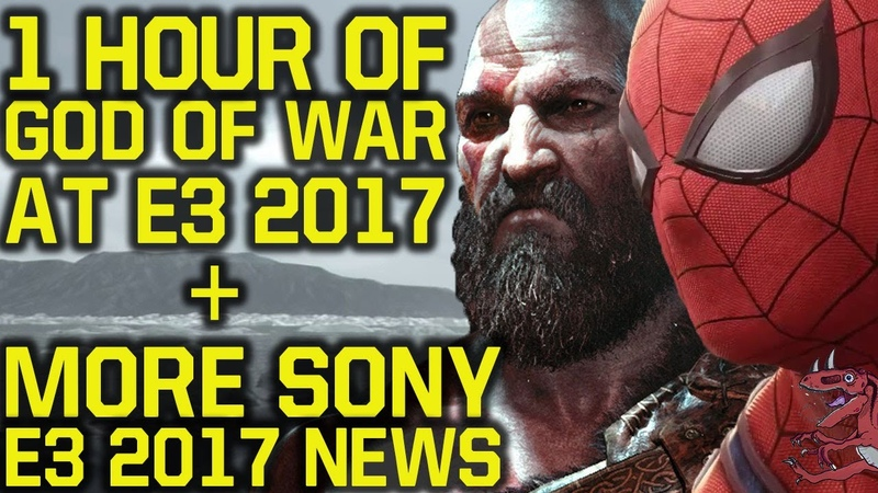 New SONY E3 2017 DETAILS: 1 HOUR God Of War 4 - Spiderman PS4 gameplay No Death Stranding gameplay