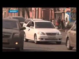 Рейд по проверке автомобильной тонировки в Барнауле