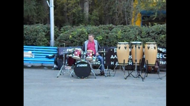 Супер соло на барабанах. Смотреть всем!