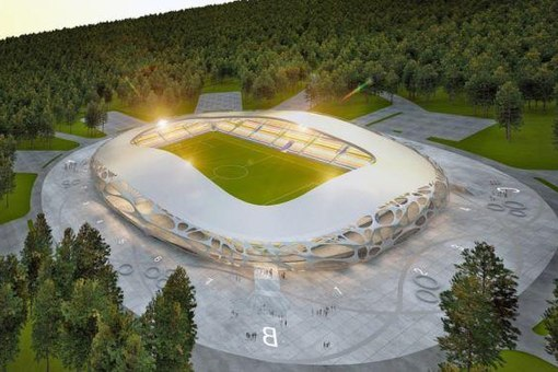 Firm OFIS architecture have designed the FC bate borisov stadium in
