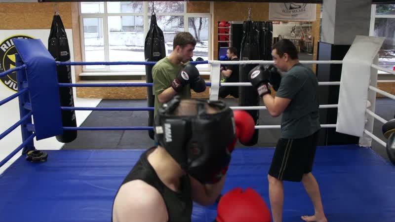 Клуб классического бокса Андрея Шишкова - Тренировка от 12.12.18 (Продолжение)