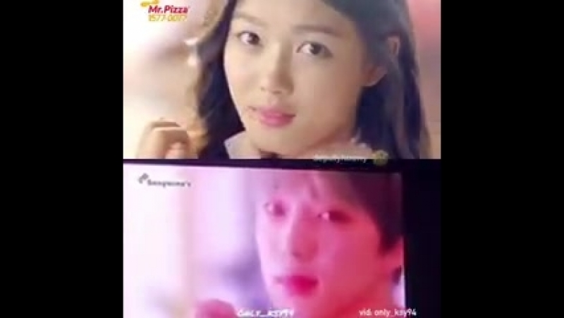 [VIDEO] 180617 SEUNGYOON parodied Kim YooJungs Mr. Pizza CF using Dominos @ WWIC2018 PRIVA