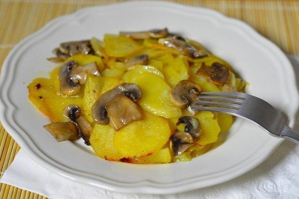 Готовим картошечку на обед