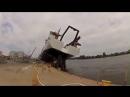 Корабль упал при спуске на воду (оператору пц )