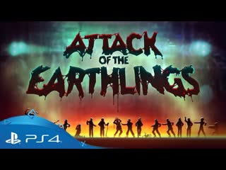 Attack of the earthlings launch trailer ps4