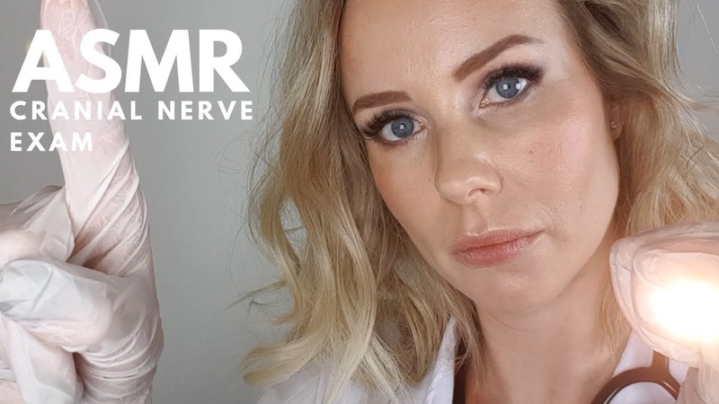 ASMR Cranial Nerve Examination Role Play | Real Doctor 💉