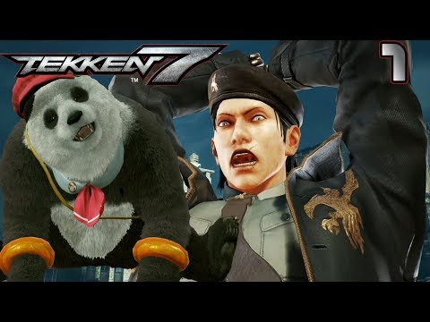 Tekken 7 1 ДРАГУНОВ И ТРИ МЕДВЕДЯ