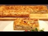 Рецепт   Картофельный пирог из слоеного теста