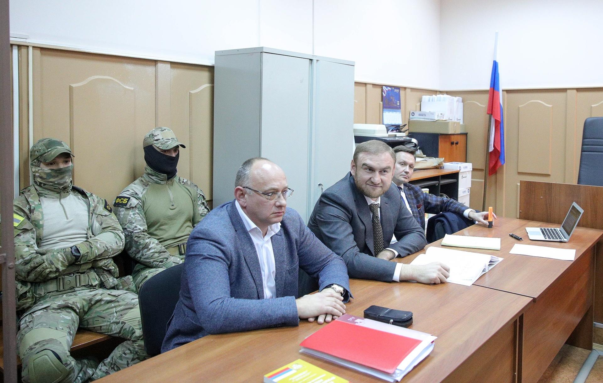 Рауф Арашуков заключен под стражу на два месяца