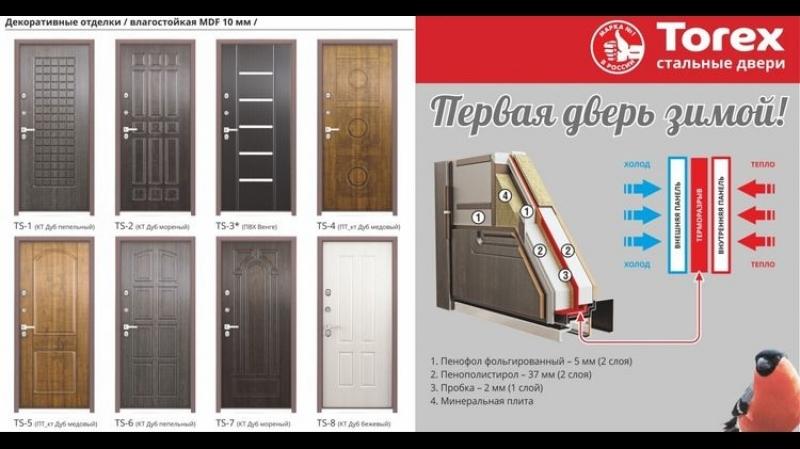 Ролик. Дверь Torex Snegir 60 (Снегирь 60)