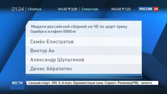 Новости на Россия 24 • Шорт-трек и лыжный спорт: старты в Италии были успешными для россиян