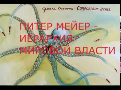 ПИТЕР МЕЙЕР - ИЕРАРХИЯ МИРОВОЙ ВЛАСТИ