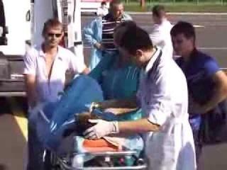 Самолет ВСУ Ан-26 доставил на Украину с Беларуси посрадавших в ДТП