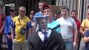 У венгерского посольства в Киеве требовали «не мешать Украине»