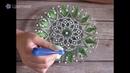 Набор для точечной росписи тарелки Black Plate