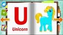 Английский Алфавит и слова видео для детей