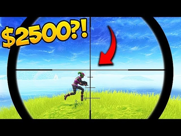 I'll give you 2500$ if you hit this shot 😱 Fortnite Funny Fails 293