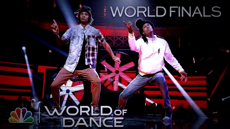 Les TWiNS Return to Finesse by Bruno Mars and Cardi B - World of Dance 2018 (Full Performance) [Clean]
