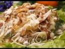 Капустный салат с филе