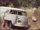 A Volkswagen T1 Panel Van Recovered Near A Mine From Italy vw bug bulli fusca