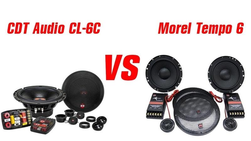 CDT CL-6C vs Morel Tempo 6