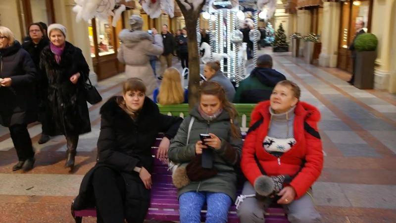 30 12 2017 Предновогодняя Москва ГУМ