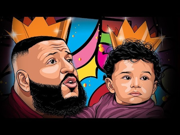 DJ Khaled - Custom Cartoon Speedart ( Adobe Illustrator )