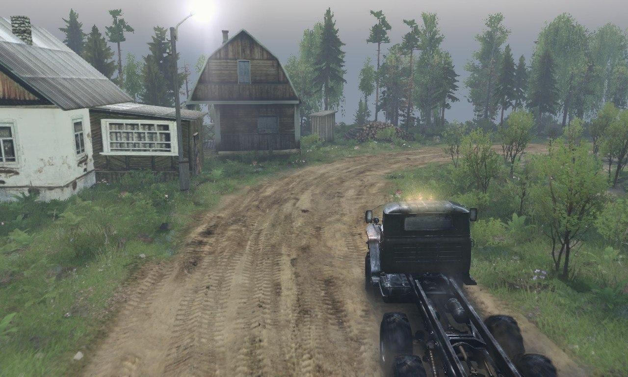 Карта «Лесозаводск» для 03.03.16 для Spintires - Скриншот 2